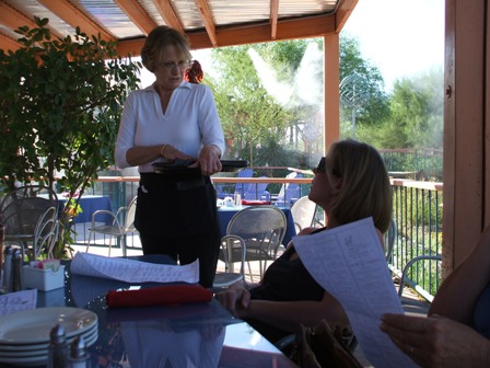 Outdoor restaurant in Arizona - Wonderful little restaurant outside of Nogalas Arizona