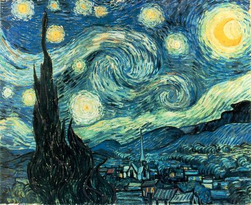 Starry Night by Vincent van Gogh - Starry Night