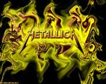 Metallica - A cool picture of metallica's name. It has cool effects and colors and other crap. check it out by typing metallica in google images