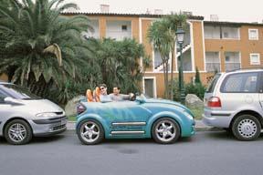 Adjustable car - It is called Presto