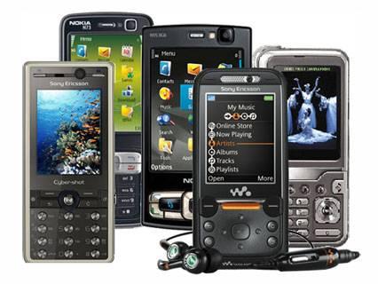 phones - mobile phones around the world