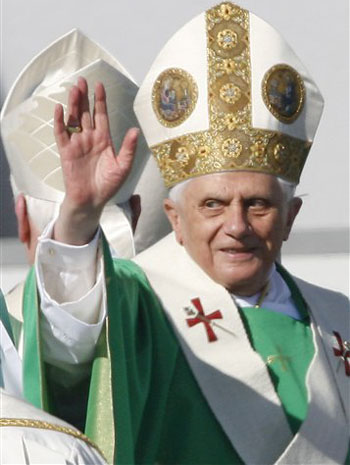 The Pope - This is a picture of the Pope.