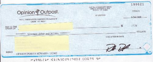 Payment proof for Opinion Oupost - My second payment proof from this survey site.