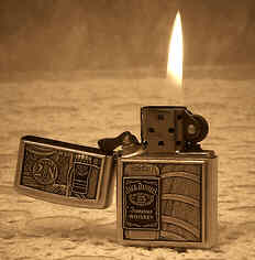 zippo lighter - just a pic of a zippo lighter similar to the one my father had when I was a kid.
