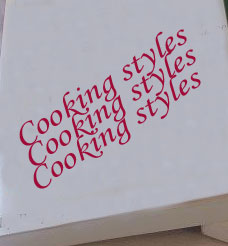 Books - Cooking books
