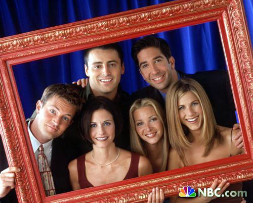 Friends on NBC - Nice, cute pic of Friends on NBC