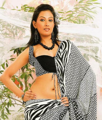 indian woman in saree - saree worn