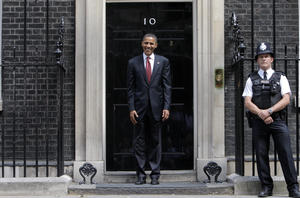 Wannabe President of the UK /WORLD?? - at 10 Downing Street