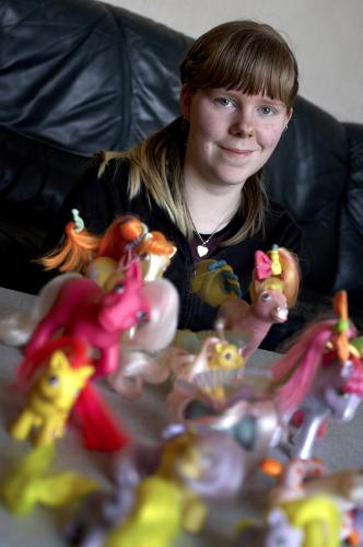 Picture of me and a part of my collection for my c - This one is pretty old, about 2 or 3 years ago I guess.. :)