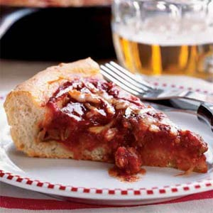 Deep Dish Pizza - Here is what a Deep Dish Pizza looks like :)
