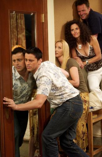friends at work! - a scene from friends