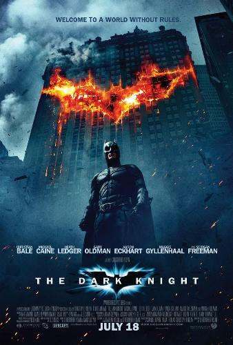 Poster of The Dark Knight - This is the hero ,this is the legend........