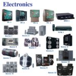picture of electronics devices - Here is a picture of all the electronics that my Father In Law refuses to own. LOL