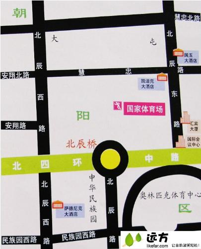 map of our national stadiem - this a map of our natinal stadiem,if you come to beijing,you can get there according the map