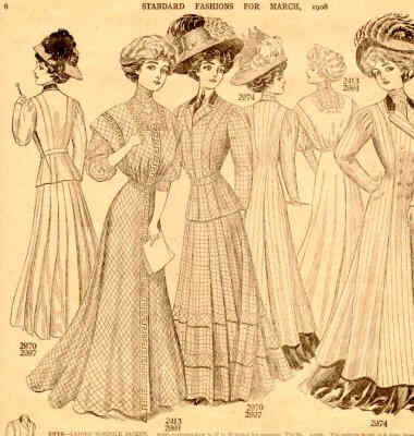 1908 Fashion - 1908 Standard Fashion newspaper insert