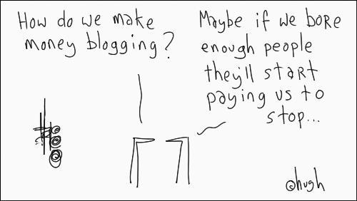 make money blogging - make money blogging.. funny...