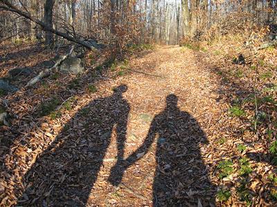 relationship - men and women holding hands