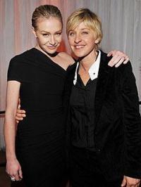 Ellen and Portian - Ellen is the best butch in the whole wide world. My idol! LOL!