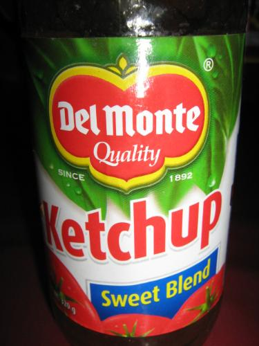 ketchup - ketchup anyone? tomato or banana?