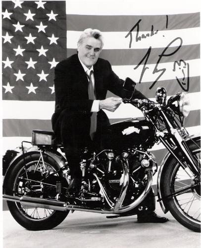 Jay Leno autograph - Email autograph success
