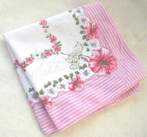 Do you still use a handkerchief? - A picture of a handkerchief. Photo source: http://farm3.static.flickr.com/2212/2332646317_2edb6504f4.jpg?v=0