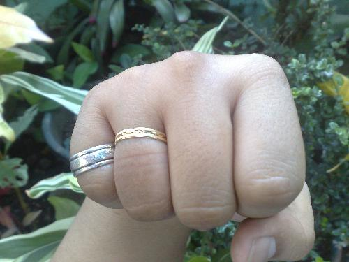 wedding ring - our wedding ring, and our friendship ring