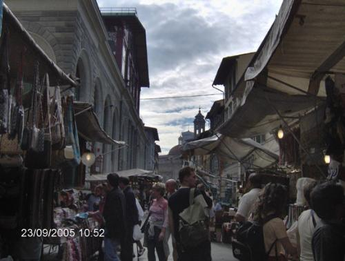beautiful picture of florence market - this is a beautiful picture of a florence market during the week.