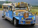 This is how our school service looks like - When I was still studying this is our school service. The Philippine jeepney!