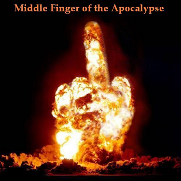 Middle finger - The most powerful finger sign there is