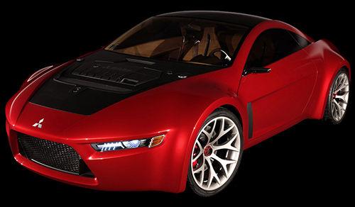 red car - one elegant sports car