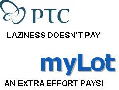 PTC versus MYLOT - PTC: MyLot sucks! Come to me and earn by being lazy! MYLOT: Shut up PTC! Laziness doesn't pay!