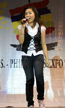 Charice Pempengco - A great singer.. With six standing ovations in various countries..