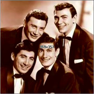The Ames Brothers - The Ames Brothers were popular in the late 1940s & early 1950s. Rag Mop was the #1 song on the day I was born. It was a dumb song with a catchy beat.