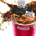 Soft Drinks - a glass of cold soft drink..