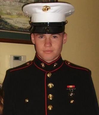 My little brother the Marine! - This is my little brother home for Easter!!!