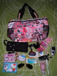 bag - stuff content of bag