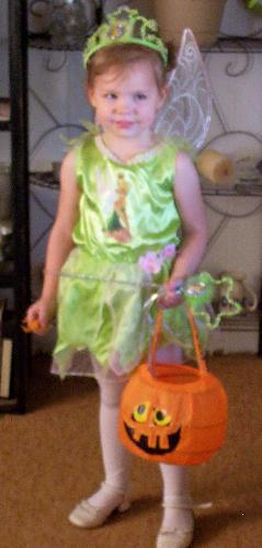 Haloween - My little green fairy