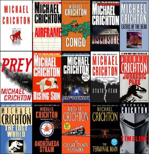 Books - Book by Michael Crichton