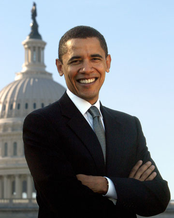 President Barack Obama - The newly elected president of America is looking sharp in this photo. In behalf of all Filipinos, congratulations for the sweet victory of President Obama. :)