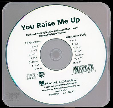 You Raise Me Up... - This a CD of Josh Groban. I love his songs and I always listen to it.