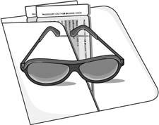 glasses on a clip board - glasses on a clipboard