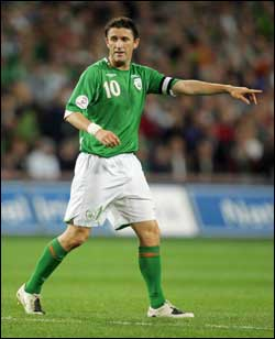 robbie keane - the best player for liverpool this season. plays for ireland. he seems to be overshadowed by the return of torres.