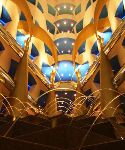 burj al arab - a symbol of wealth, fame and honor..