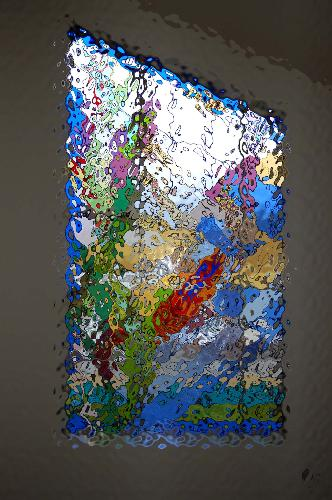 My Stained Glass Creation - The Freedom to create still rules all our senses.