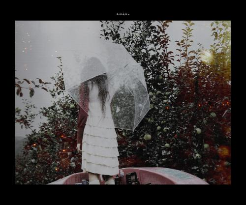 rain - hard raining