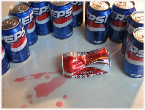 funny pepsi picture - Just a funny pepsi vs coke picture