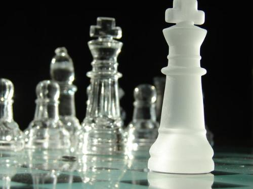 Dare you to move - A photoshoot I did a year ago with chess pieces