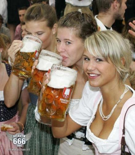 beer drinking girls -  i just don't like it when girls are displaying that they are drinking in front of many