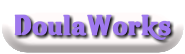 doulaworks - One of my many DoulaWorks business logos