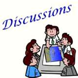 discussion - people discussin things